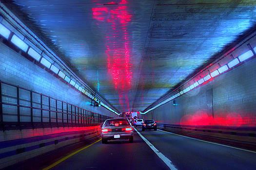 Chesapeake Bay Bridge Tunnel by Sheryl Bergman