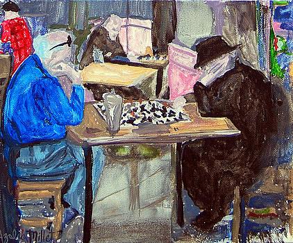 Chess by Azalea Millet