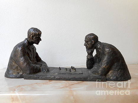 Chess-players by Nikola Litchkov