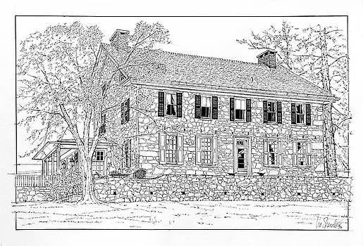 Chester County Colonial by Ira Shander