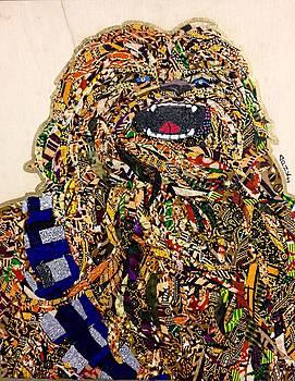 Chewbacca Star Wars Awakens Afrofuturist Collection by Apanaki Temitayo M