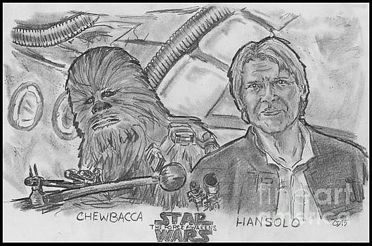 Chewie were home by Chris  DelVecchio