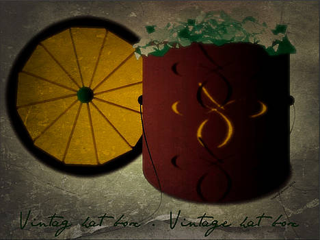 Chic Hat Box - Contact Artist to License Image by Yoli Fae