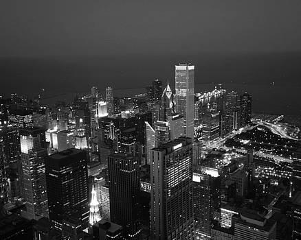 Chicago at Night by Ken Reardon