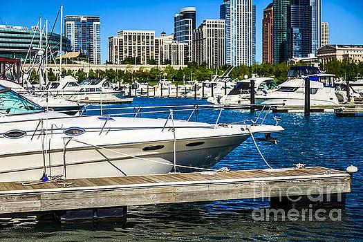 Paul Velgos - Chicago Burnham Harbor Boats