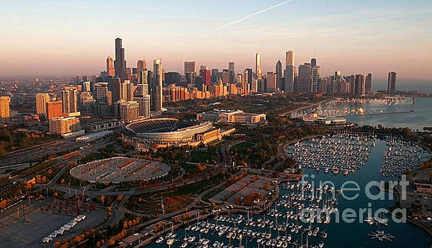 Chicago by Air by Jeff Lewis