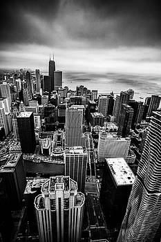Chicago from Above by Andrew Soundarajan
