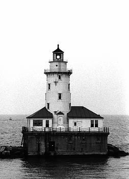 Chicago Harbor Lighthouse by Dan McCafferty
