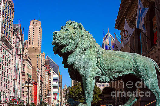 Chicago Lion by Jeff Lewis