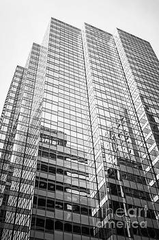 Paul Velgos - Chicago Office Building  Black and White Photo