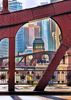 Christopher Arndt - Chicago River Bridge Framed