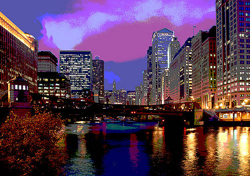 Chicago River by Jim Wright