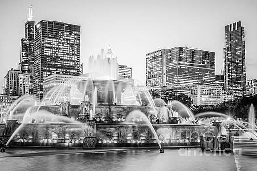 Paul Velgos - Chicago Skyline Black and White Photography