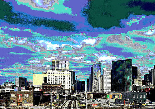 Chicago Skyline by Charles Shoup