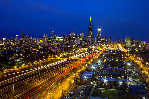 Chicago Skyline  by Jackie Novak