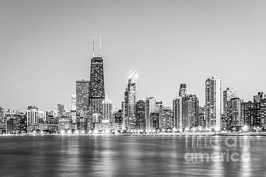 Paul Velgos - Chicago Skyline with Hancock Building Photo