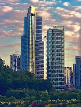 Chicago Spires by Chrystyne Novack