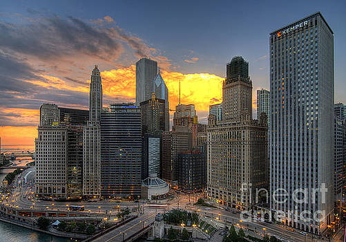 Chicago Storm by Jeff Lewis