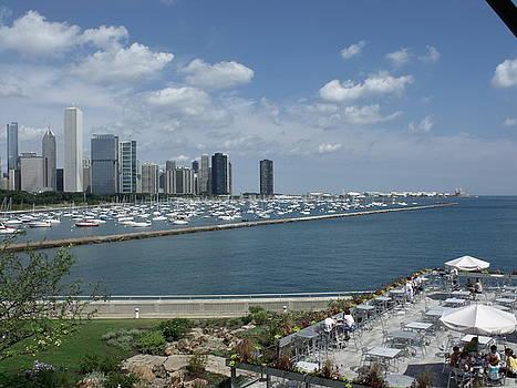 Chicago Summer by Anna Villarreal Garbis