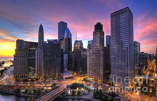 Chicago Sunrise by Jeff Lewis