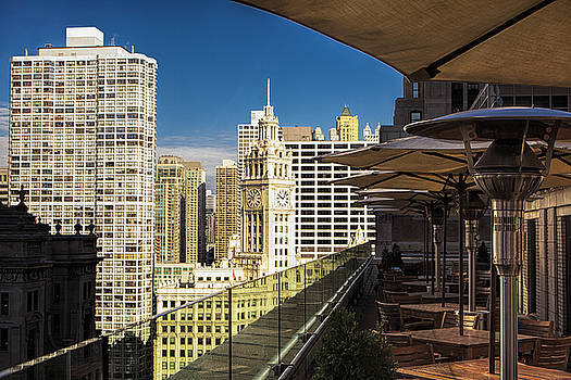 Chicago Terrace View by Andrew Soundarajan