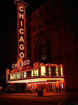 Michael Durst - Chicago Theater at Night