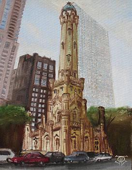 Chicago Water Tower 1E by Jeffrey Oleniacz