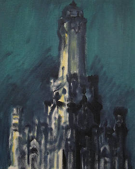 Chicago Water Tower 2A by Jeffrey Oleniacz