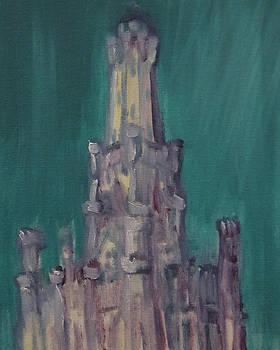 Chicago Water Tower 2B by Jeffrey Oleniacz
