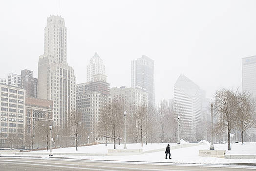 Chicago winter by Jim Wright