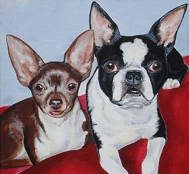 ChiChi and Lulu by Sarah Grangier