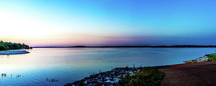 Barry Jones - Chickasaw Landing Panorama