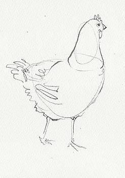 Chicken 1 by Amy Bernays