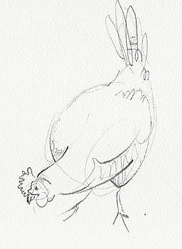 Chicken 2 by Amy Bernays