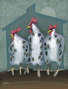 Chickens Poxed by Shane Guinn