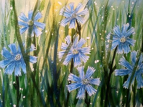 Chicory II by B Kathleen Fannin