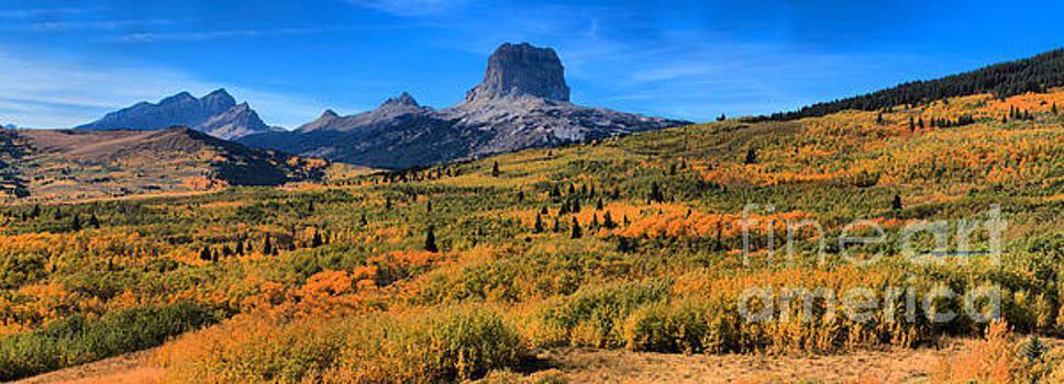 Adam Jewell - Chief Mountain Fall Panorama
