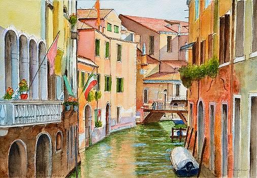 Chiesa San Martino on Rio de la Ca en duo Venezia by Dai Wynn