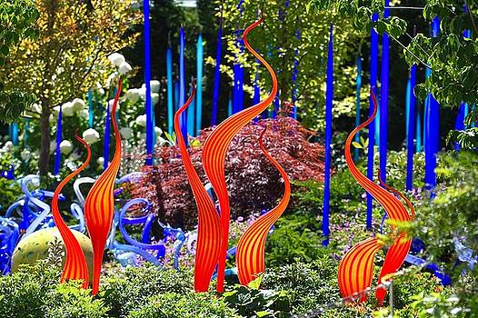 Chihuly Gardens by Amy G Taylor