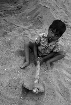 Child at play by Umesh U V