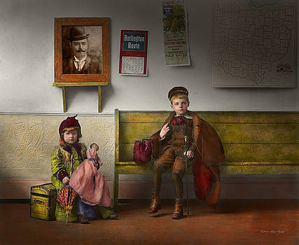 Mike Savad - Children - Life is an adventure 1893