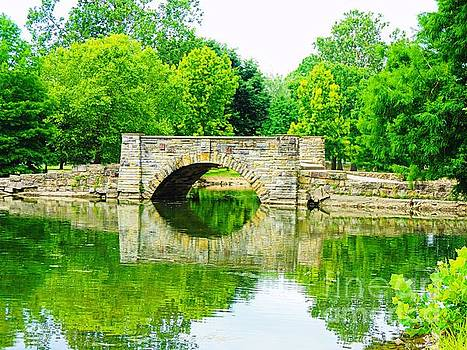 Chillicothe City Park Bridge by Angela Weis