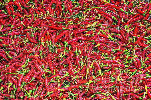 Chillies by Charuhas Images