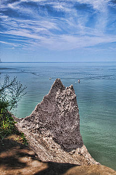 Chimney Bluffs Wolcott NY by Gerald Salamone