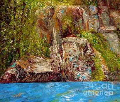 Chimney Rock by Eloise Schneider