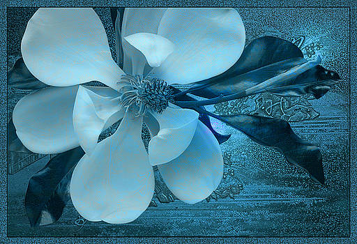 China Blue by Ron Morecraft