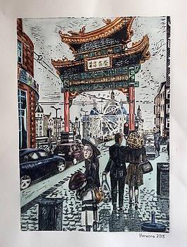 China Town  Antwerpen by Varvara Stylidou