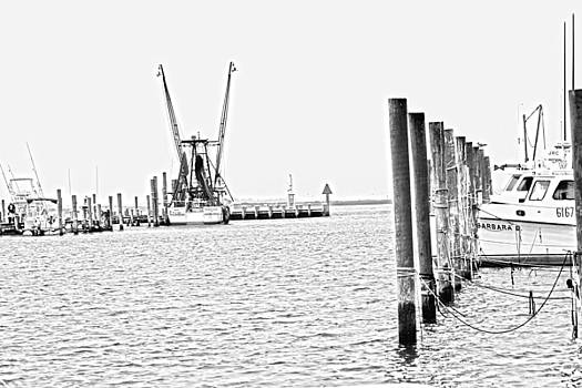 Chincoteague Harbor 1 by JB Stran