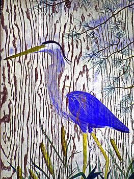 Chincoteague Heron by Kim