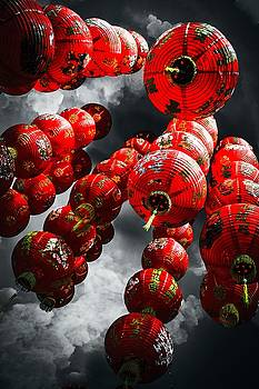 Chinese Lanterns by Karl Anderson